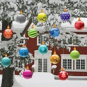 Große Weihnachtskugeln Für Außenbereich : gro e rote weihnachtskugeln f r drau en my blog ~ Whattoseeinmadrid.com Haus und Dekorationen