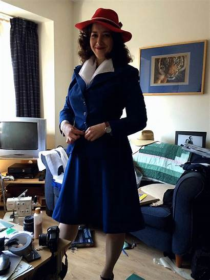 Carter Peggy Cosplay Costume Agent Suit Costumes
