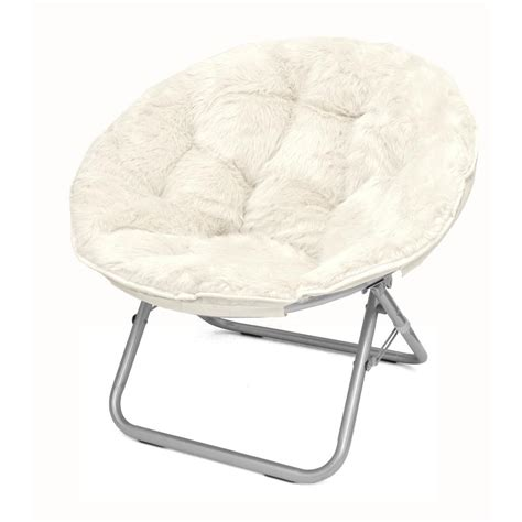 Saucer Chair For Adults by Idea Nuova Mongolian White Folding Chair K656241 The