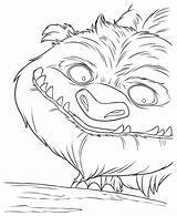 Coloring Pages Neverbeast Legend Bell Tinker Monster Meditation Cartoon Colorkid sketch template