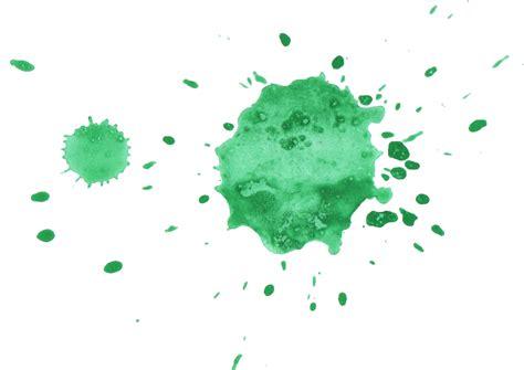 green watercolor splatter png transparent onlygfxcom
