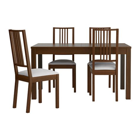 ikea dining table and chairs bjursta börje table and 4 chairs ikea