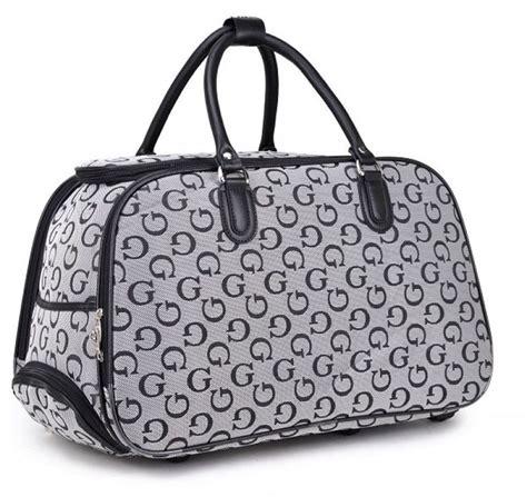designer cabin luggage suitcase travel holdall g designer style print