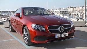 Mercedes 220 Coupe : 2018 mercedes benz e 220 d 4matic coupe road and interior trailer youtube ~ Gottalentnigeria.com Avis de Voitures