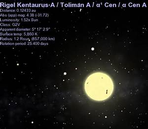 Hubble Picture of Rigel Kentaurus (page 3) - Pics about space