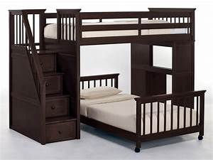 Full Bunk Beds With Stairs | Newsonair.org