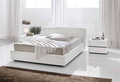 modern master bedroom furniture white leather bedroom