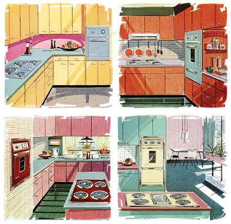 1950s kitchen colors 17 best images about vintage kitchen on 1037