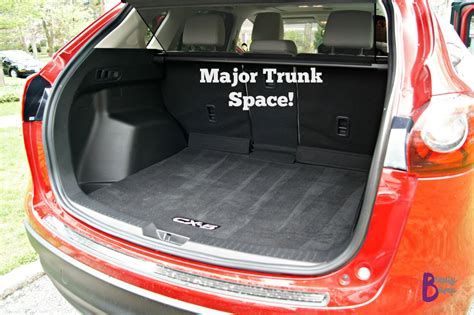 Trunk Space by Cruising New York City In The 2016 Mazda Cx 5 Grand