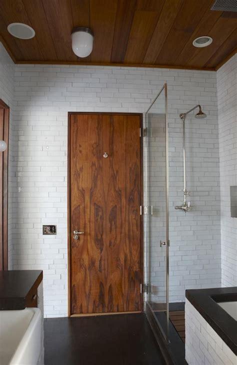 Modern Bathroom Door by 85 Best Images About Hout In Huis Deuren On
