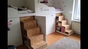 Trofast Regal Ikea : bauvideo hochbett bau kinderzimmer renovierung trofast regal youtube ~ Orissabook.com Haus und Dekorationen