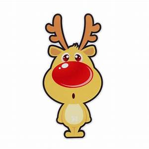 Hot Sale Cars Decorations Christmas Reindeer Cartoon Car Stickers for Your Car Cute and Good
