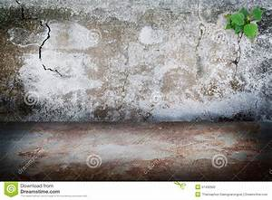 Old grunge dark room concrete wall rust stains concrete for How to remove rust stains from concrete floor