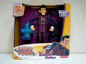 Lazy Town Robbie Rotten Action Figure