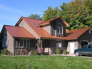 Photo : Houses With Red Roofs Images Bungalow Style Homes