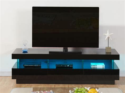 site de vente de canapé meuble tv fabio mdf laqué leds 3 tiroirs 2 coloris