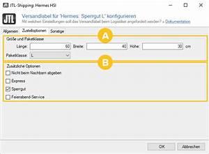 Hermes Versandkosten Berechnen : hermes hsi versandlabel konfigurieren jtl guide ~ Themetempest.com Abrechnung