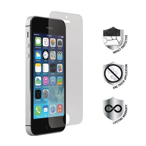 19471 tempered glass screen protector iphone 5 iphone 5 5s 5c tempered glass screen protector proporta 19471