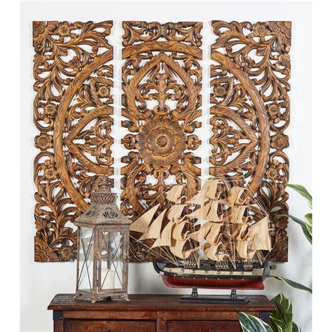 Palm leaf set of 3 wall decor copper quantity. One Allium Way 3 Piece Wood Panel Wall Décor Set & Reviews | Wayfair