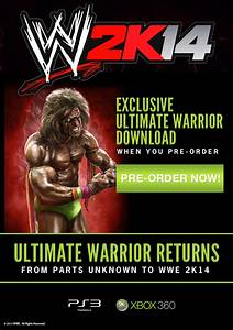 Ultimate Warrior Comes to WWE 2K14