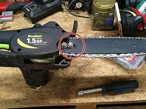 How To Poulan 1 5 Hp Peak 8 Amps With Electric Pole Saw
