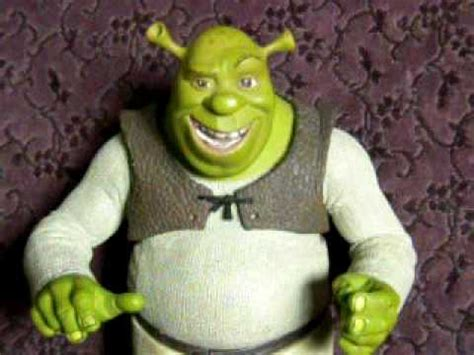mcfarlane toys talking shrek action figure youtube