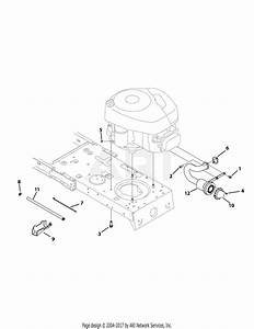 Mtd 13ac762f052  2009  Parts Diagram For Engine