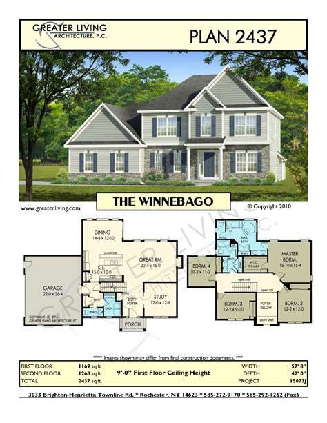 Plan 2437: THE WINNEBAGO Architectural design house