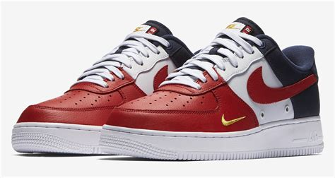 """""""usa"""" Nike Air Force 1 Low Mini Swoosh Releases This"""