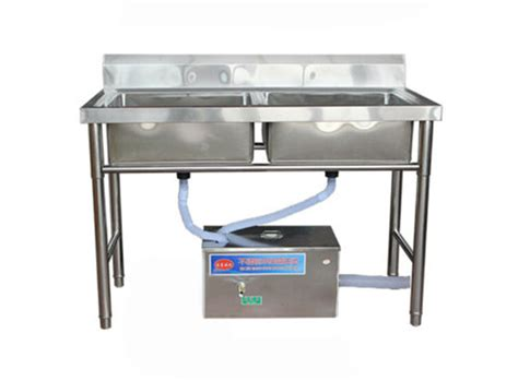 Commercial Stainless Steel Under Sink Grease Trap Kitchen