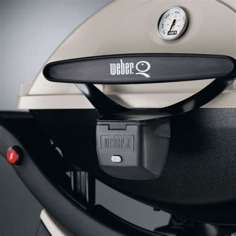 Weber Q Handle Grill Light  The Barbecue Store Spain