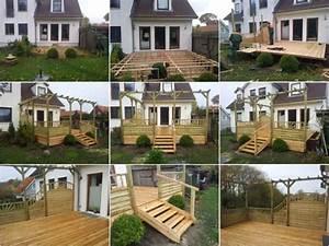 Terrassen Sichtschutz Aus Holz : terrasse mit terrasse mit treppe beste sichtschutz terrasse und terrassen sichtschutz moderne ~ Sanjose-hotels-ca.com Haus und Dekorationen