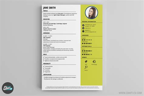 Cv Style by Resume Builder 36 Resume Templates Craftcv