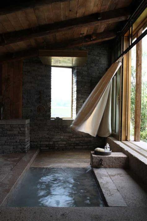 natural stone bathtub ideas   classy bathroom