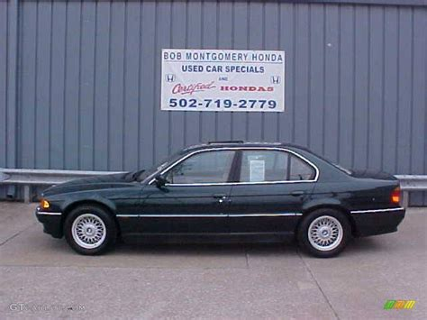 2000 Oxford Green Metallic Bmw 7 Series 740i Sedan