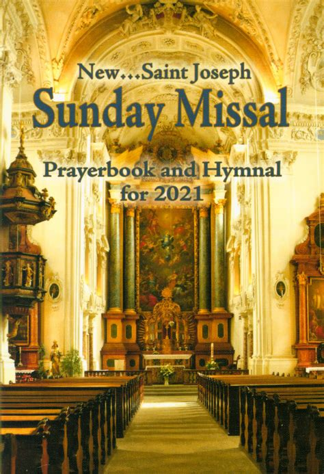 sunday missal prayerbook  hymnal   year