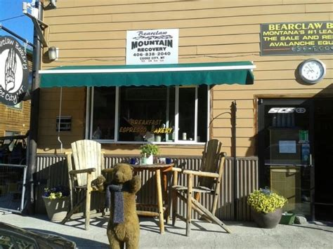 The complete list of bearclaw coffee outlet store locations in the united states. Enjoy A Classic Small-Town Breakfast At Bearclaw Bakery In Montana
