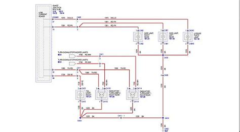 2006 F250 Light Wiring Diagram Color Code by Light Wiring Diagram The Mustang Source Ford