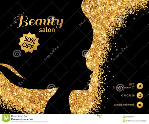 black  gold fashion woman stock vector image