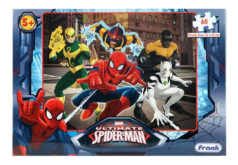 buy frank puzzle the ultimate spider man 60 pcs online in india kheliya toys