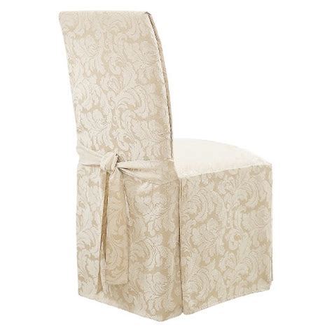 sure fit chair slipcovers sure fit scroll dining room chair slipcovers target