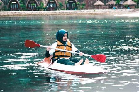 tempat bermain kayak terbaik  indonesia tempat