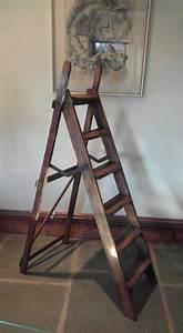 Vintage, Wooden, Step, Ladders