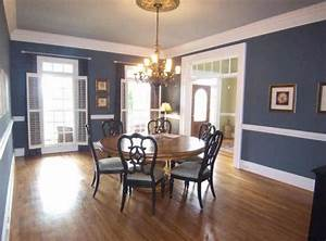 dining room paint ideas with chair rail large dining With dining room color ideas with chair rail