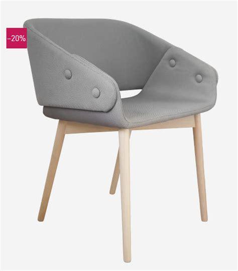 chaise grise tissu soldes chaises habitat rook chaise grise en tissu