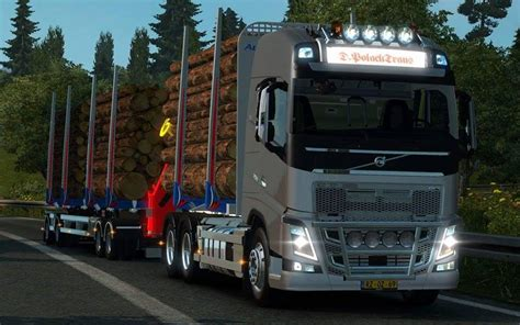 volvo fh  timber  ets mods