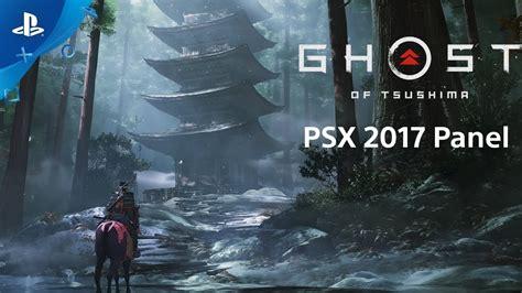 ghost  tsushima psx  panel ps youtube