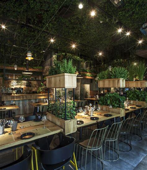 natural restaurant interior design adorable home