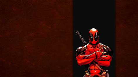Free download Red Wade wilson Marvel Band Wallpaper ...