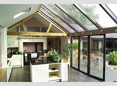 Lean To Conservatories Modern, Glass Lean To Extensions